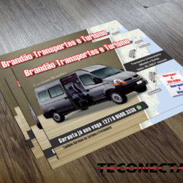 Panfleto Brandão Turismo